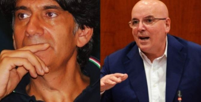Carlo Tansi e Mario Oliverio