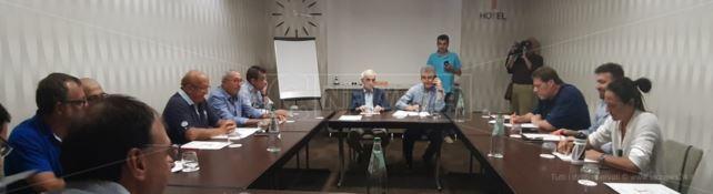 La riunione convocata dal Psi Calabria