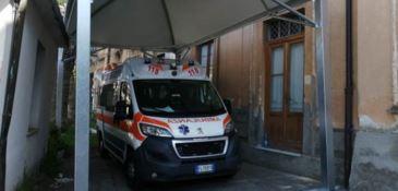 Ambulanza al coperto