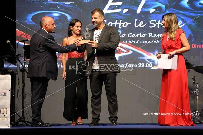La premiazione a Vibo Marina