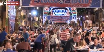 Cittanova, la festa nazionale dello stocco è ancora un successo