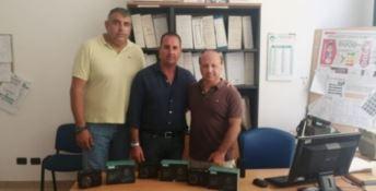 Da sinistra l'assessore Pietro Caminiti e il sindaco Giovanni Siclari