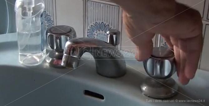 Un rubinetto a secco