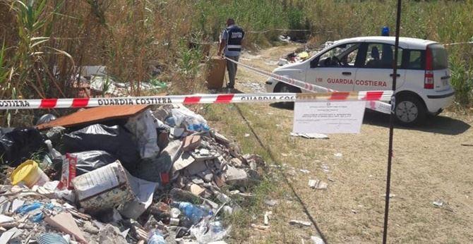 L'area a Pizzo posta sotto sequestro