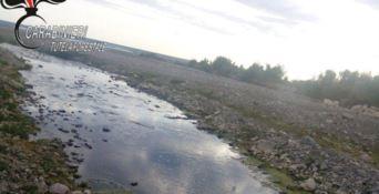 Scarichi fognari nel fiume Trionto a Crosia, scattano tre denunce
