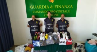 Crotone, merce sequestrata