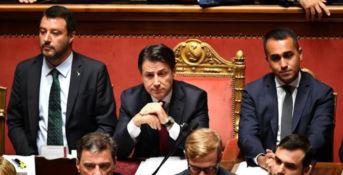 Salvini, Conte e Di Maio