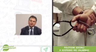 Politiche sociali a sostegno dei calabresi, il WhatsApp di Giuseppe Pedà