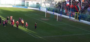 Vibonese-Catania finisce 0-0. Un'altra grande si ferma al Razza