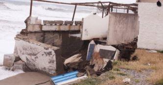 Lungomare devastato a Bovalino, il sindaco chiede lo stato di calamità