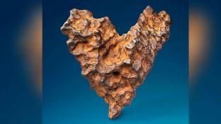 Il meteorite a forma di cuore