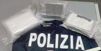 Cocaina rinvenuta dalla polizia - Repertorio