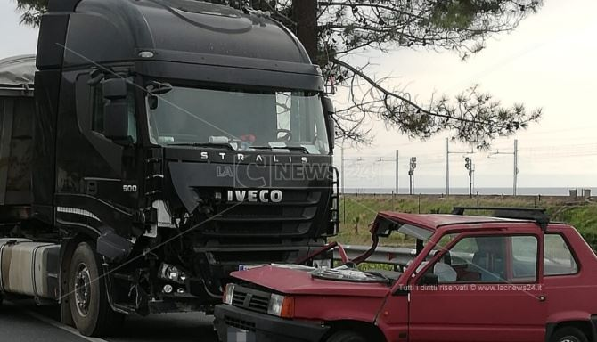 Incidente nel Cosentino