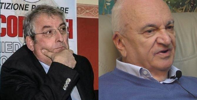 Nella foto, Ernesto Magorno e Gaetano Sollazzo