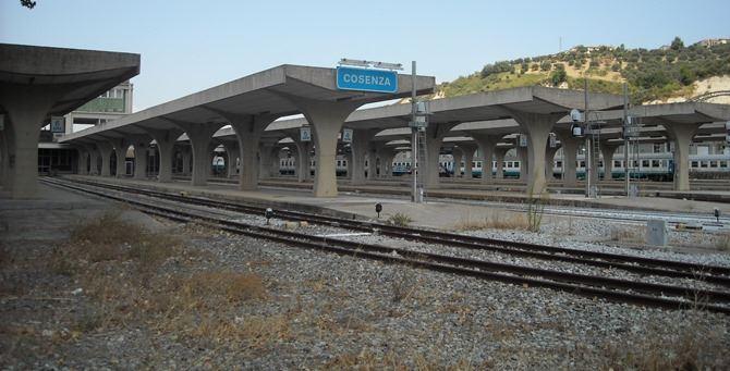 La stazione di Cosenza
