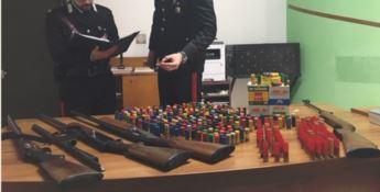Scalea, armi e munizioni in casa: arrestata una 68enne