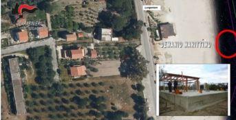 Abusi edilizi a San Sostene, scattano tre denunce