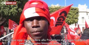 In piazza a Reggio Calabria per difendere la dignità dei migranti