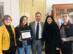Villa San Giovanni, alla studentessa Evelina Scopelliti il premio Grillo 2019