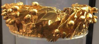 Diadema di Hera, museo archeologico di Crotone