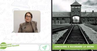 Conoscere e ricordare la Shoah, il WhatsApp di Alessandra Carelli