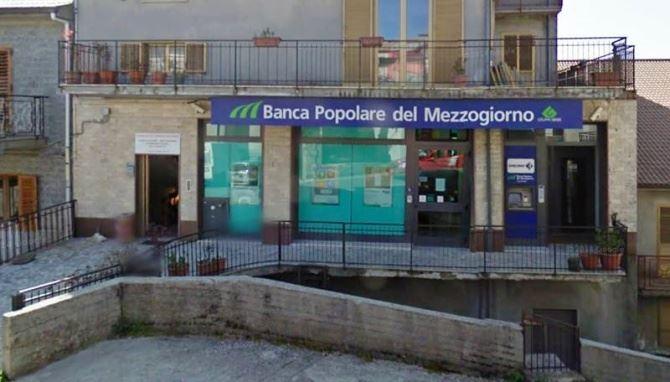 La sede Bper a Fabrizia