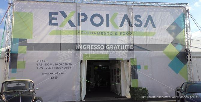 L'ingresso di Expo Kasa