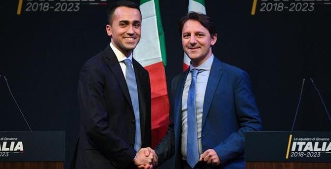 Luigi Di Maio e Pasquale Tridico