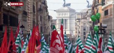 Protesta a Roma