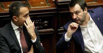 Di Maio e Salvini, foto Ansa