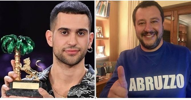 Mahmood e Salvini