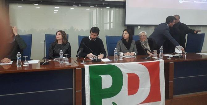 Maurizio Martina in Calabria