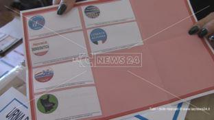 Provinciali a Cosenza, dati parziali dei voti per singolo candidato