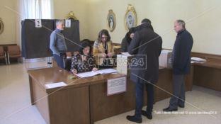 A Cosenza si rinnova il Consiglio provinciale. In corso le operazioni di voto
