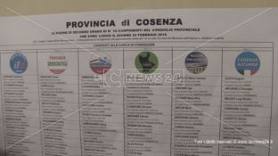 Elezioni provinciali, exploit di Forza Italia tra Cosenza e Rende