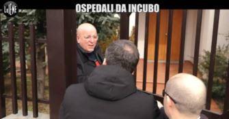 """""""Ospedali da incubo"""" in Calabria: Oliverio non risponde e fugge alle Iene"""