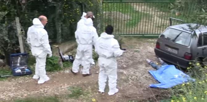 Il luogo dell'omicidio nel Vibonese