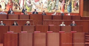 I banchi del Consiglio regionale