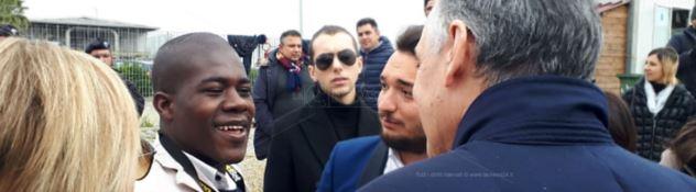 Il presidente della Regione Toscana, Rossi