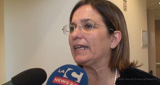 Il sindaco Filomena Greco