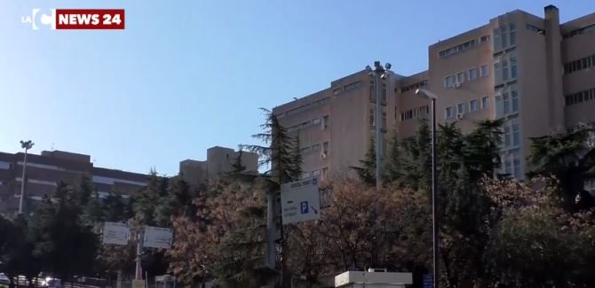 L'ospedale di Reggio Calabria