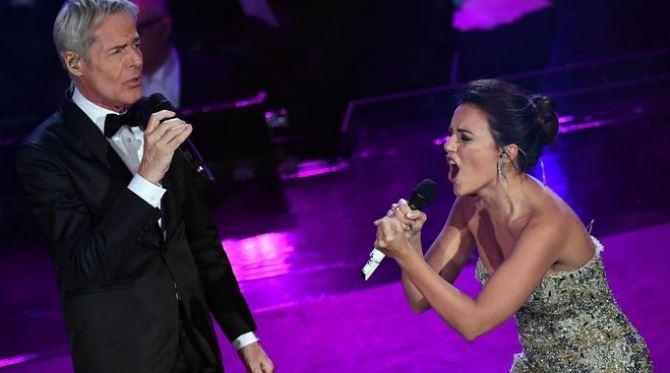 L'esibizione a Sanremo