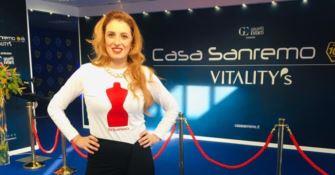 La stilista calabrese Elena Vera Stella protagonista a Sanremo