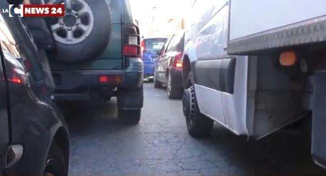 Il traffico a Cosenza