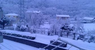 Neve nel Cosentino