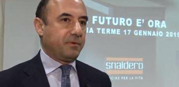 L'Ad Snaidero, Massimo Manelli