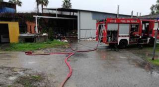 L'incendio nei locali del Resort