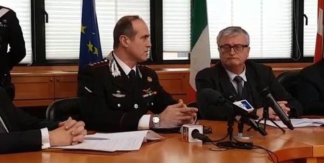 La conferenza stampa in Valle d'Aosta