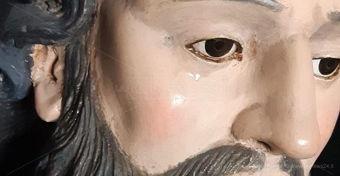 La statua di San Francesco