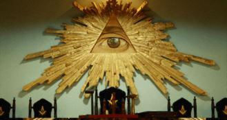 L'occhio, una dei simboli della Massoneria